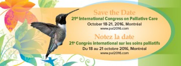 21st International Congress on Palliative Care